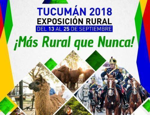 La Expo 2018 está más rural que nunca