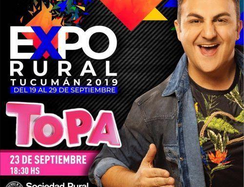 Diego Topa llega a la Expo Tucumán con su Show» Topa el Viajero» para los más pequesss!!!
